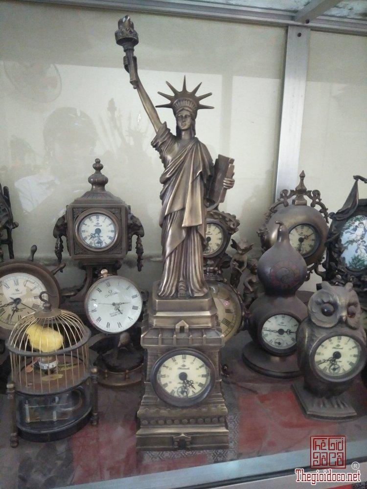 Đồng hồ nữ thần tự do cao tầm 40cm độc lạ quý hiếm Phone : 0938 179 545