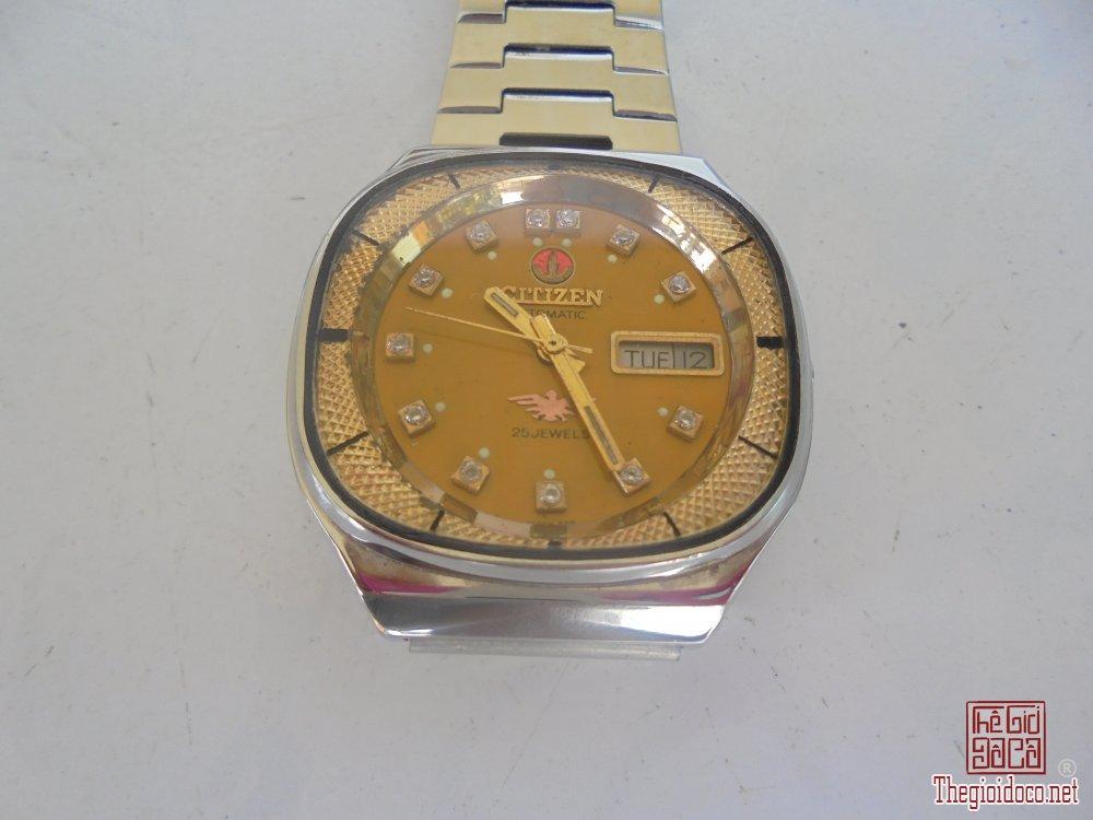 đồng hồ cổ Citizen vảy cá