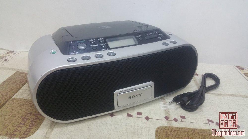 Đài Radio kết nối USB Sony ZS-PS20