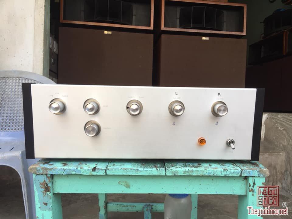 án Pre Đèn Kit FULL TANGO Có Cổng Phono - Ampli Đèn Eico Hf-81