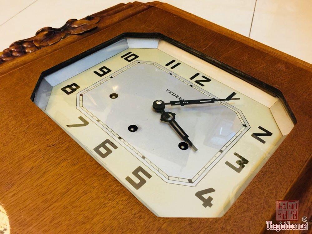 Đồng hồ Vedet Pháp thùng bè chùm nho rất đẹp