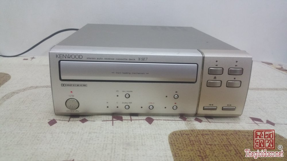 Đầu băng Cassette KENWOOD X-SE7 (G) Made in Japan