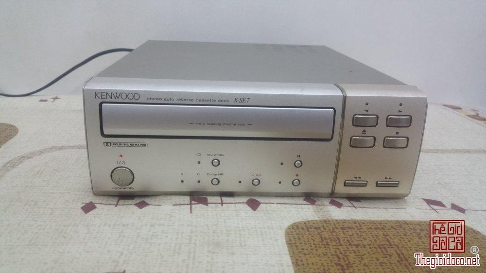 Đầu băng Cassette KENWOOD X-SE7 (G) Made in Japan
