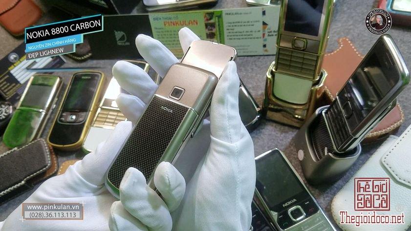 Nokia 8800 Carbon Lighnew nguyên bản