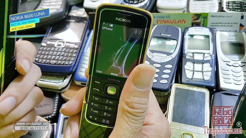 Nokia 8600 Luna Kiệt Tác Ánh Trăng Leng Keng
