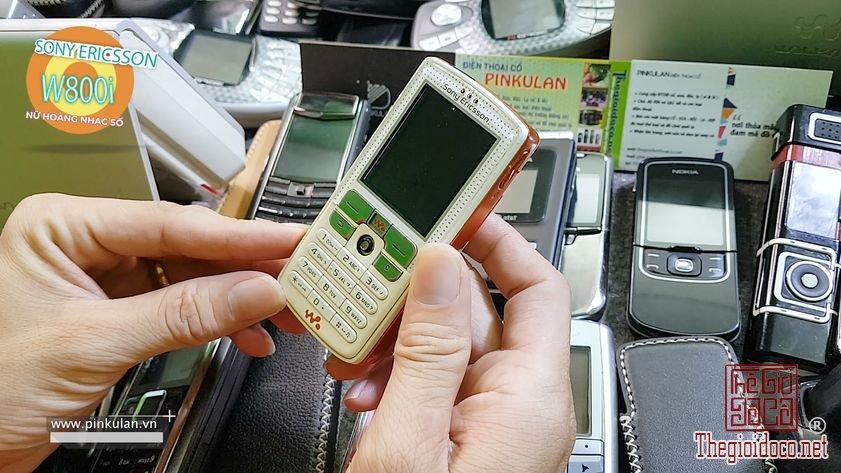 Sony Ericsson W800i nữ hoàng nhạc số