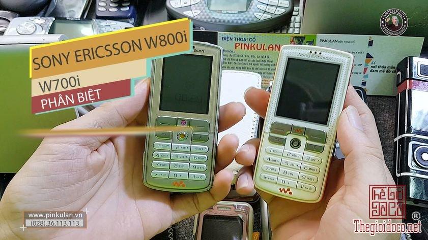 So sánh điện thoại Sony Ericsson W700i và Sony Ericsson W800i