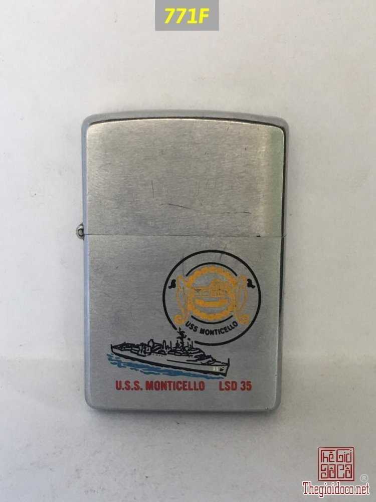 771F-chữ xéo 1977 -USS MONTICELLO -35 ( tàu đổ bộ)