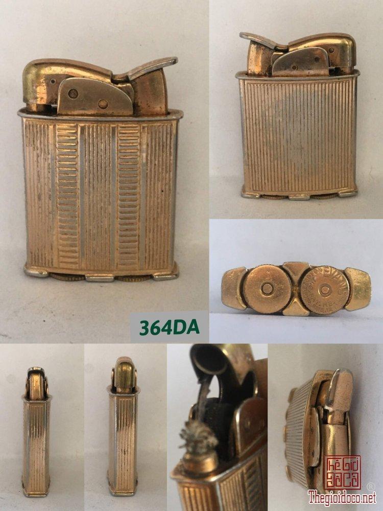 364D-bật lửa Mỹ Evan giai đoạn :49-50 -Cơ chế: sử dụng xăng+đá