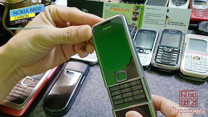Nokia 8800 Carbon nguyên bản đẹp 98% tại Pinkulan