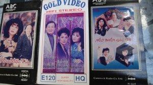Băng VHS Nhạc vàng Bolero