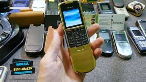Nokia 8800 Anakin si Gold cực đẹp
