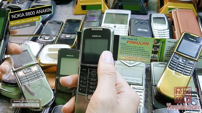 Nokia 8800 Anakin 3 màu lựa chọn