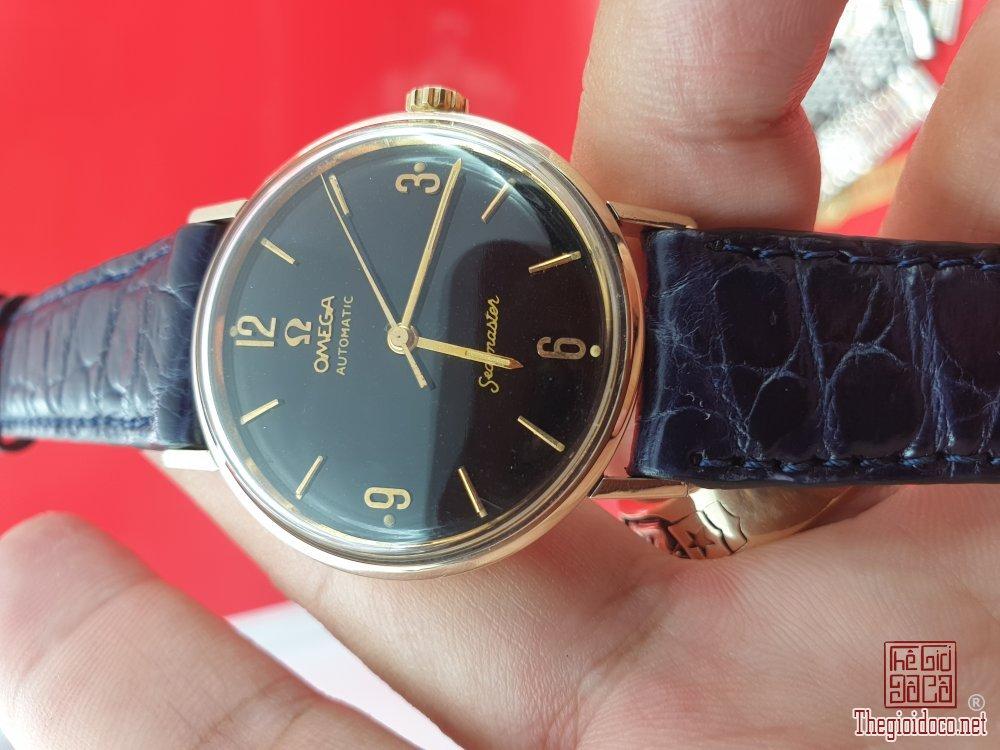 Omega seamaster vỏ bọc vàng 14k mặt bao công xưa chính hãng