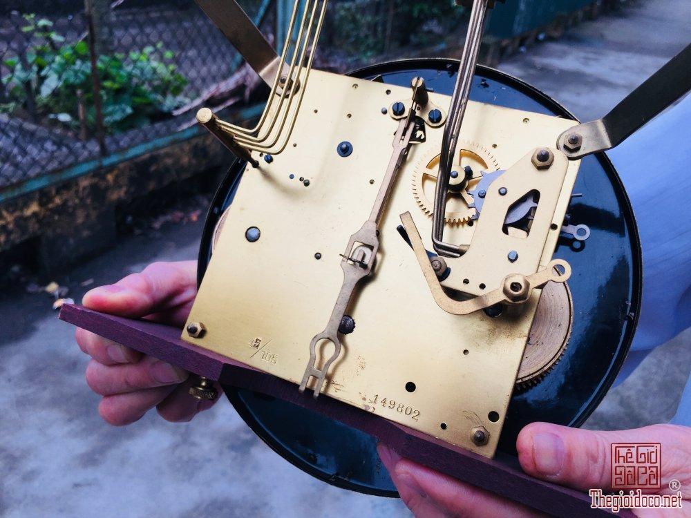 Đồng hồ mauthe Đức cổ tay lắc dài rất đẹp