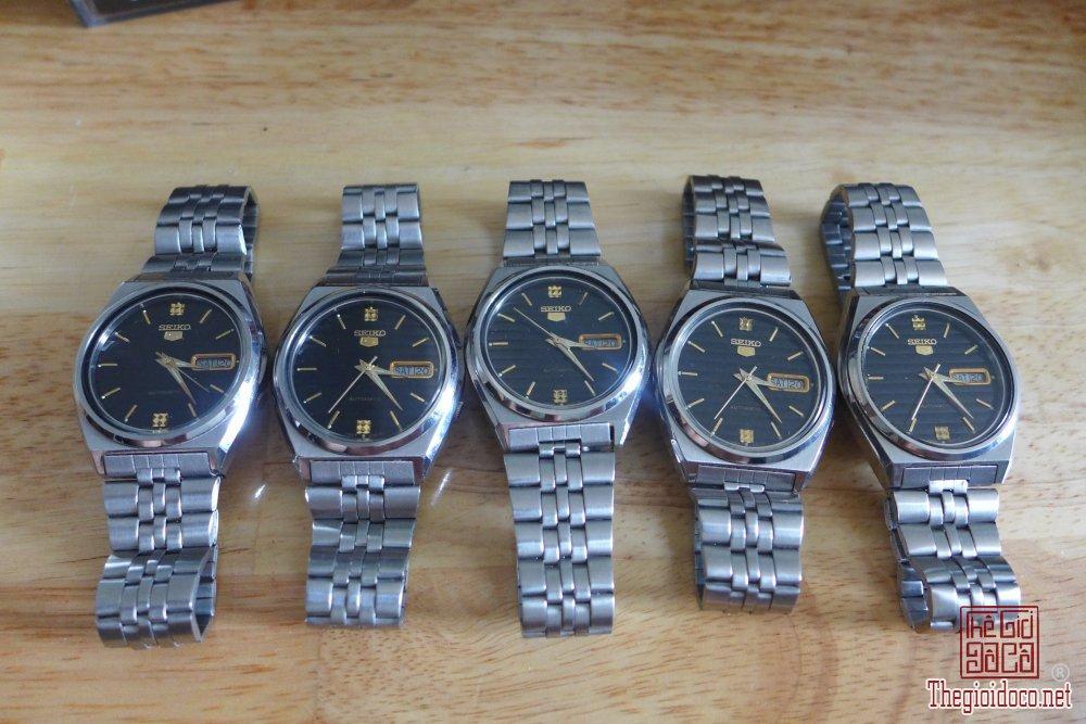 HCM - Q10 - Bán 5 cái đồng hồ Seiko 5, hàng tồn kho Nhật.