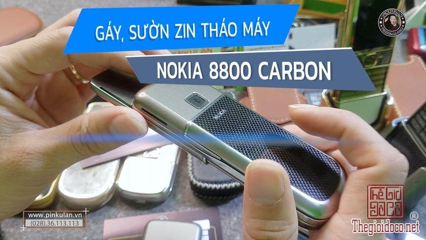 Thay gáy sườn Nokia 8800 Carbon