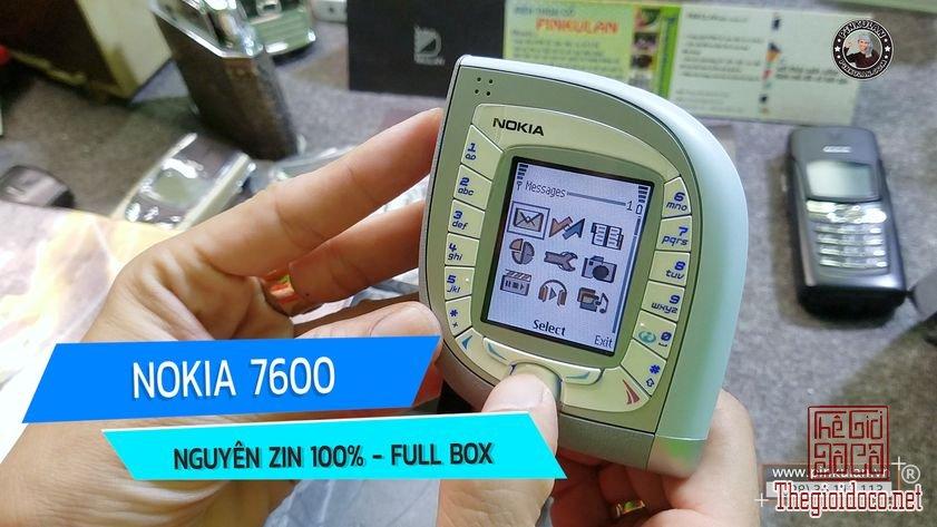 Nokia 7600 nguyên zin fullbox chính hãng