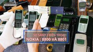 Phân biệt Nokia 8800 và Nokia...