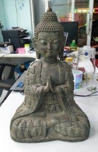 Tượng Phật quý hiếm hoa văn...
