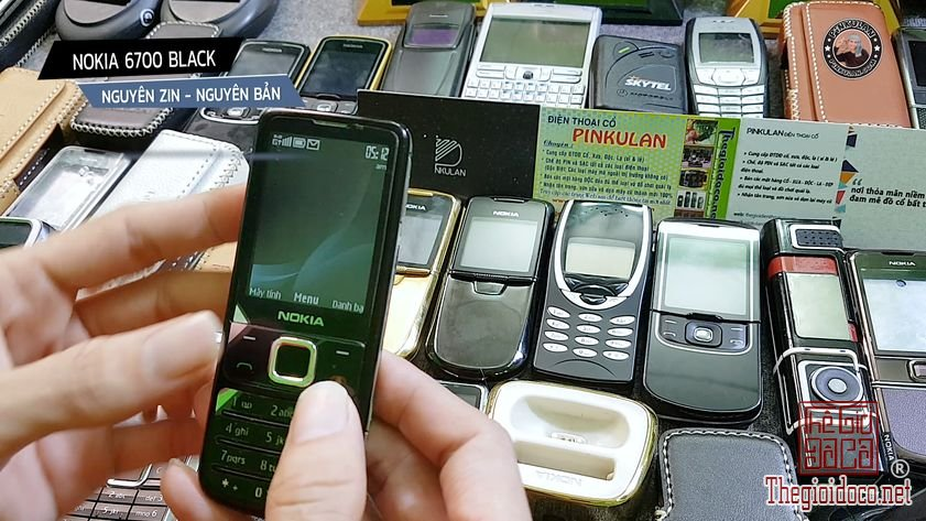 Nokia 6700 black nguyên zin nguyên bản