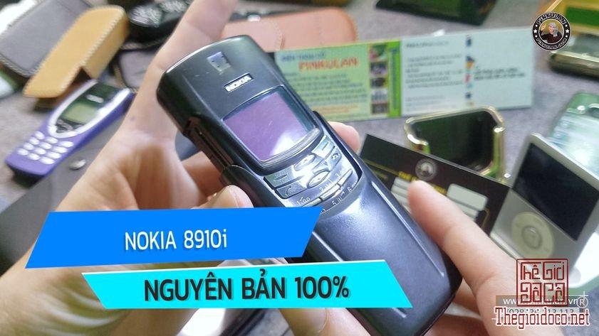 Siêu phẩm Nokia 8910i nguyên bản chính hãng