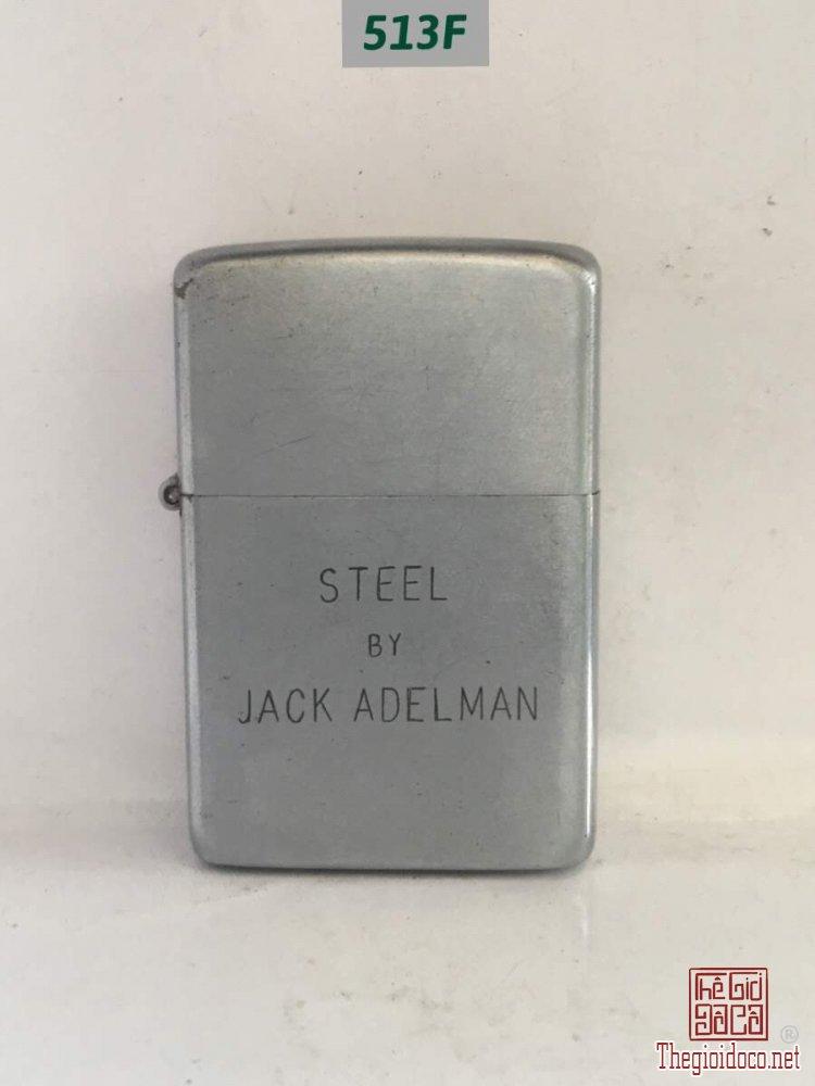513F -full thép 51-52 -STEEL BY JACK ADELMAN