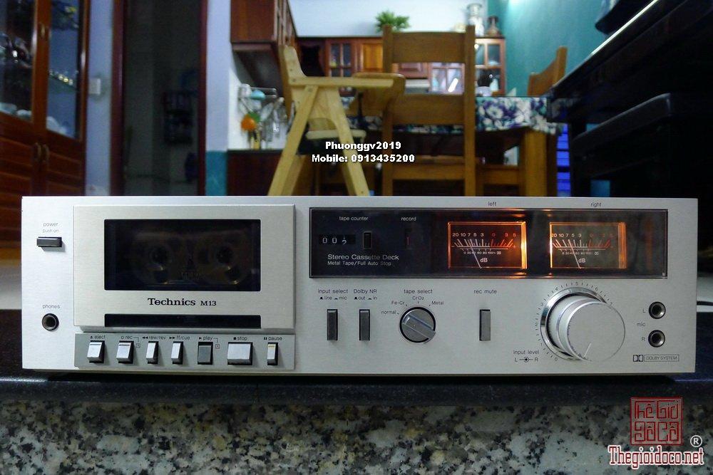 Đầu câm (Cassette Decks) các loại giao lưu! - 1