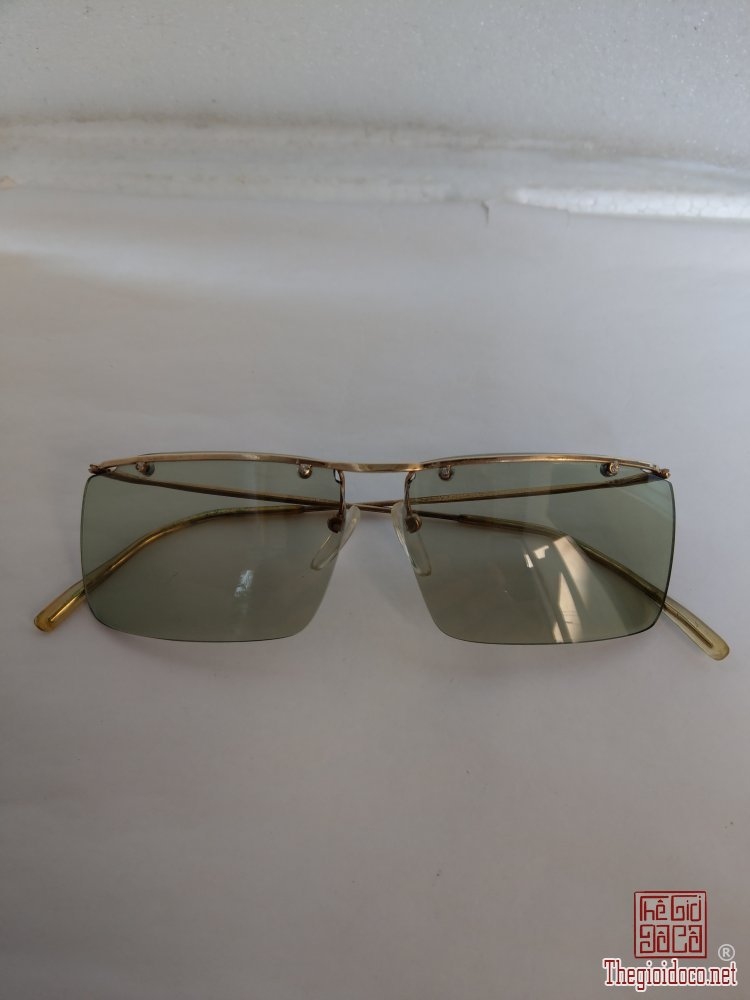 kính Amor gọng tăm bọc vàng Made in France nguyên bản siêu nhẹ