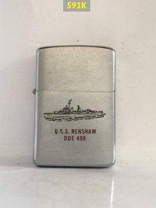 591K -chữ xéo đầu 1959 USS...