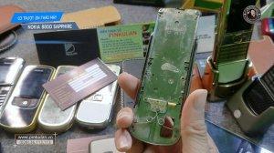 Cơ trượt zin Nokia 8800...