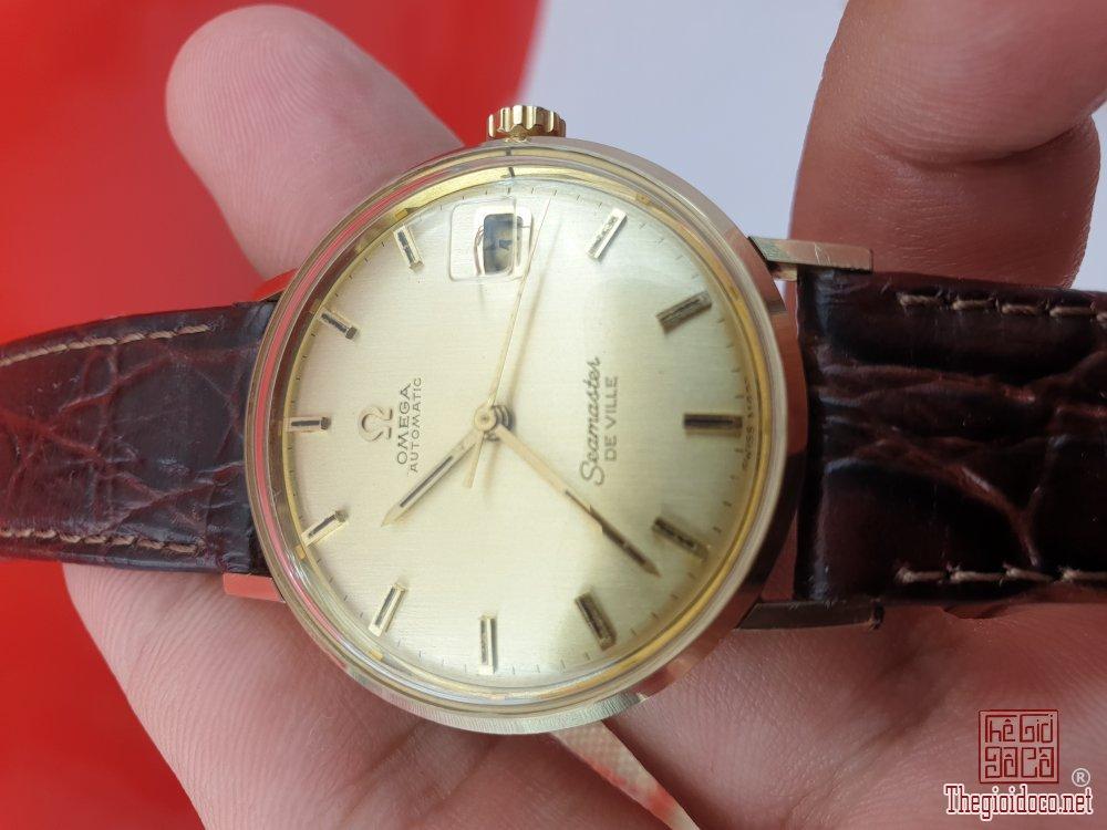 Omega seamaster vỏ bọc vàng 14k xưa chính hãng