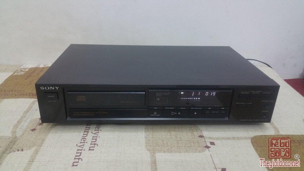 Đầu máy nghe đĩa CD Sony CDP-570