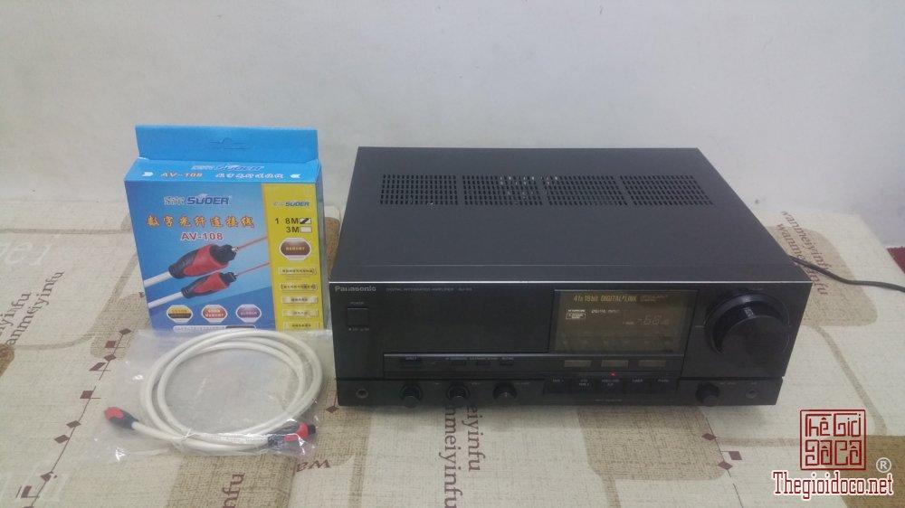 Ampli Panasonic SU-D5 - Giải mã DAC rời nghe nhạc mạng