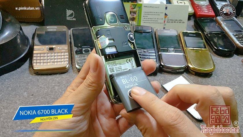 Nokia 6700 Black nguyên zin chính hãng