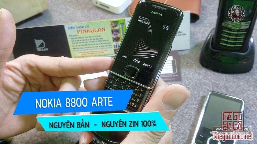 Nokia 8800 Arte nguyên bản Phần Lan