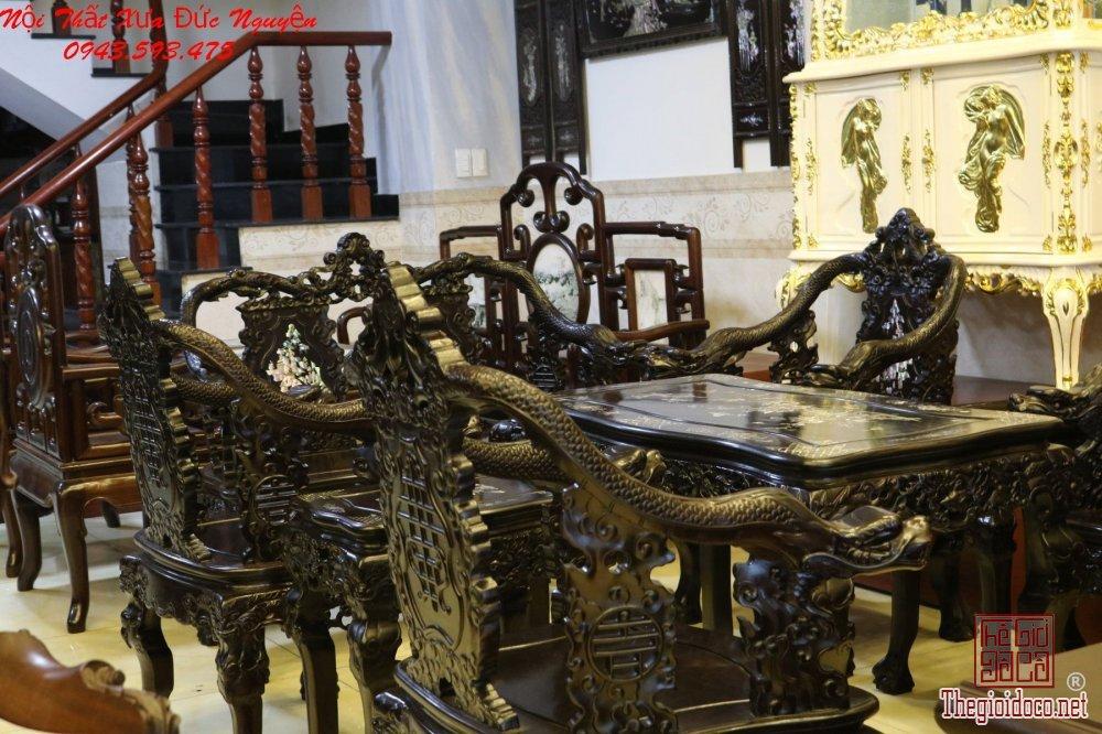 Bộ Ghế Minh Rồng Khảm Ốc - Uy Nghi  - Sang Trọng