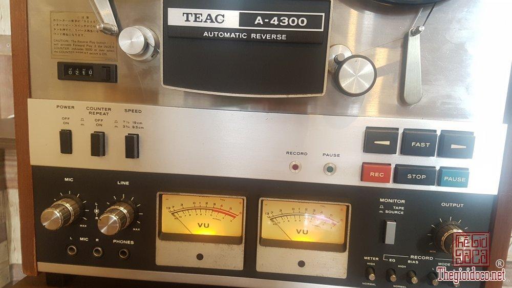 Bán đầu băng cối Teac 4300