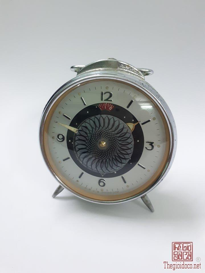 Đồng hồ để bàn xưa, máy đồng thau, SHIP COD TOÀN QUỐC