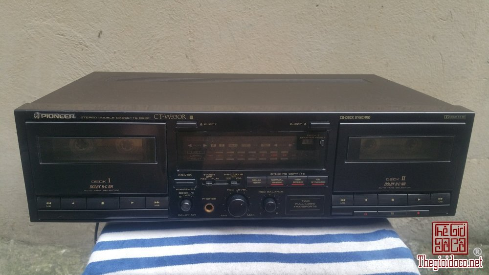 Đầu nghe băng Cassette PIONEER CT-W530R (Made in Japan)