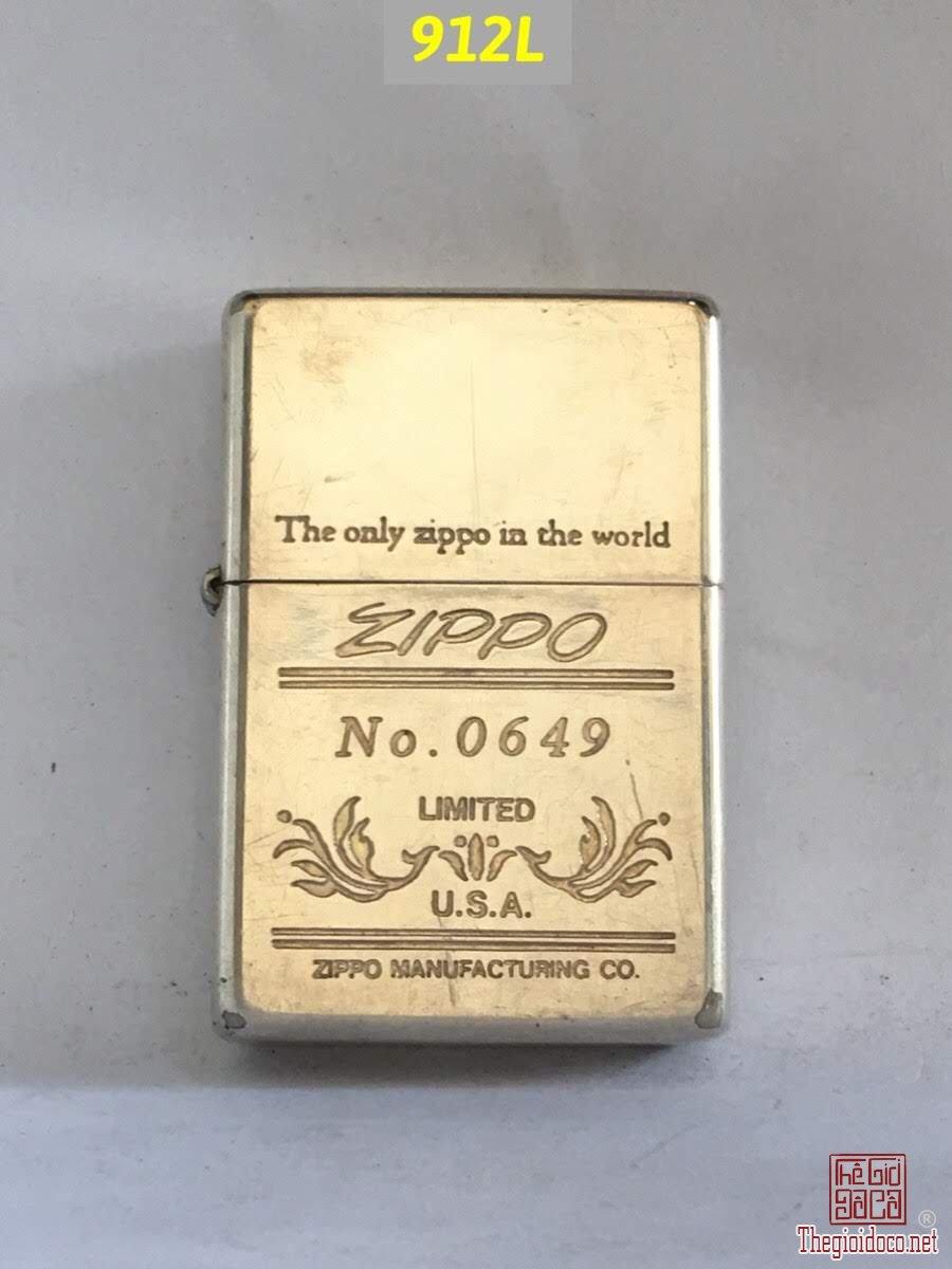 912L-vintage mạ bạc 1991 Limited No :0649