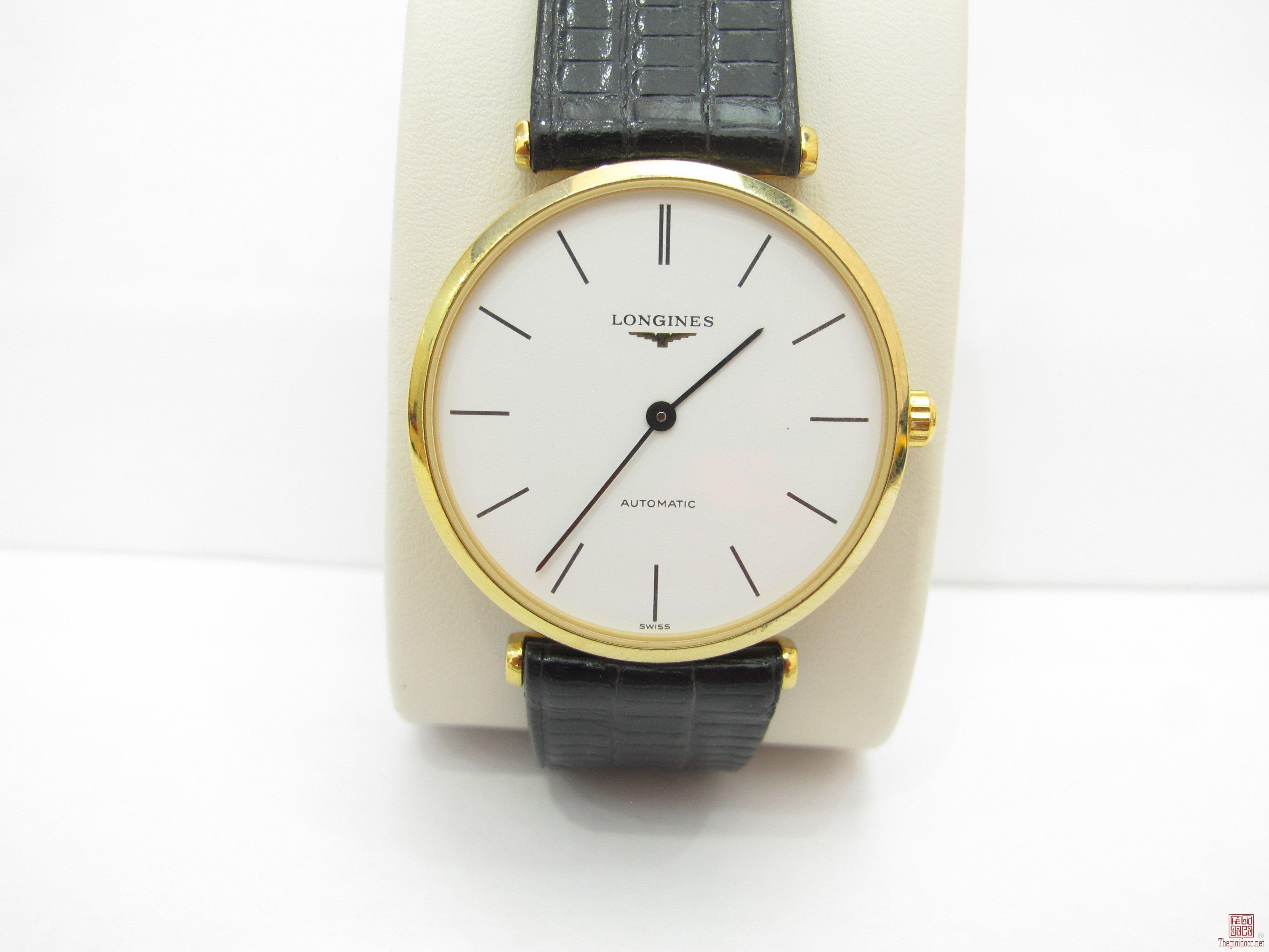 Đồng hồ Longines nam automatic Mạ vàng