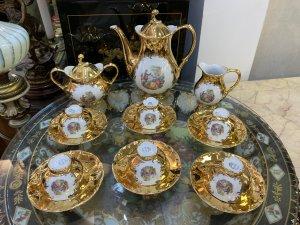 Bộ trà mạ vàng xuất xứ Sec