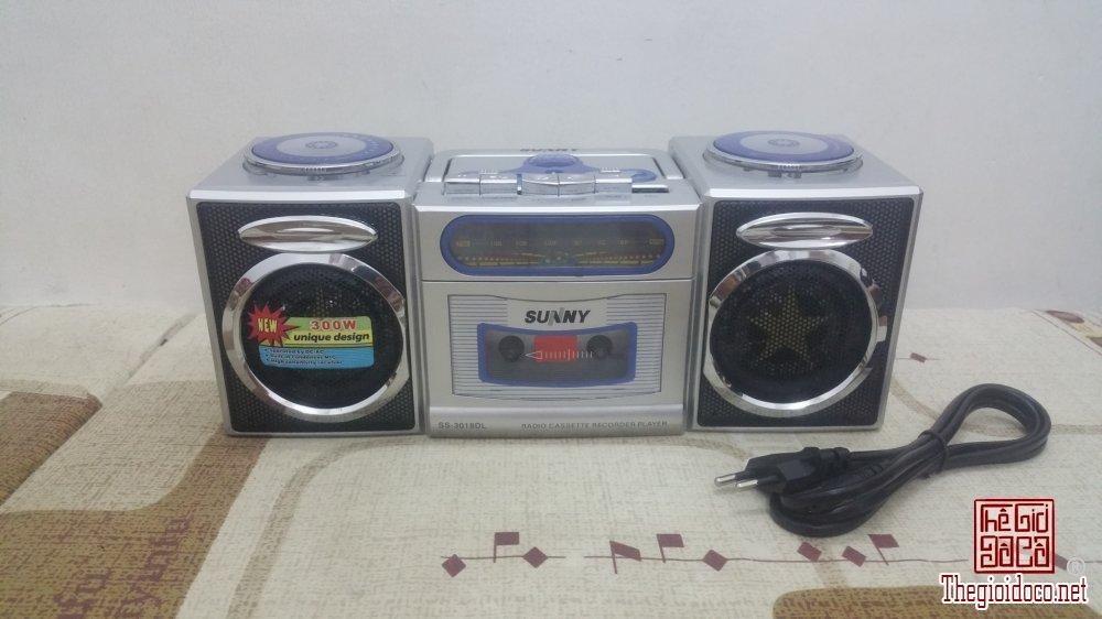 Đài Radio Cassette Mini Trung Quốc hiệu SUNNY