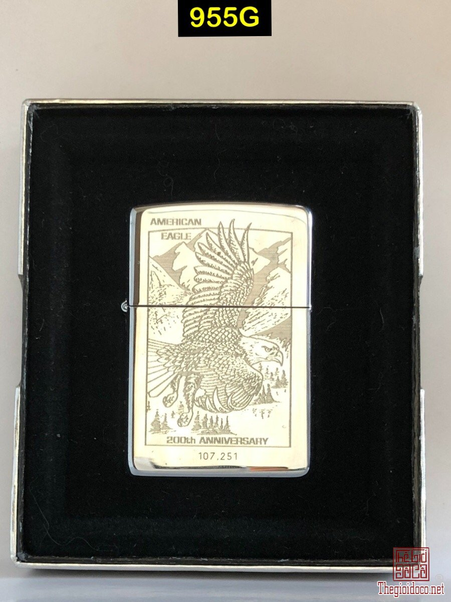 955G-hp chrome 1995 American eagle, 200 th anniversary ,No107251