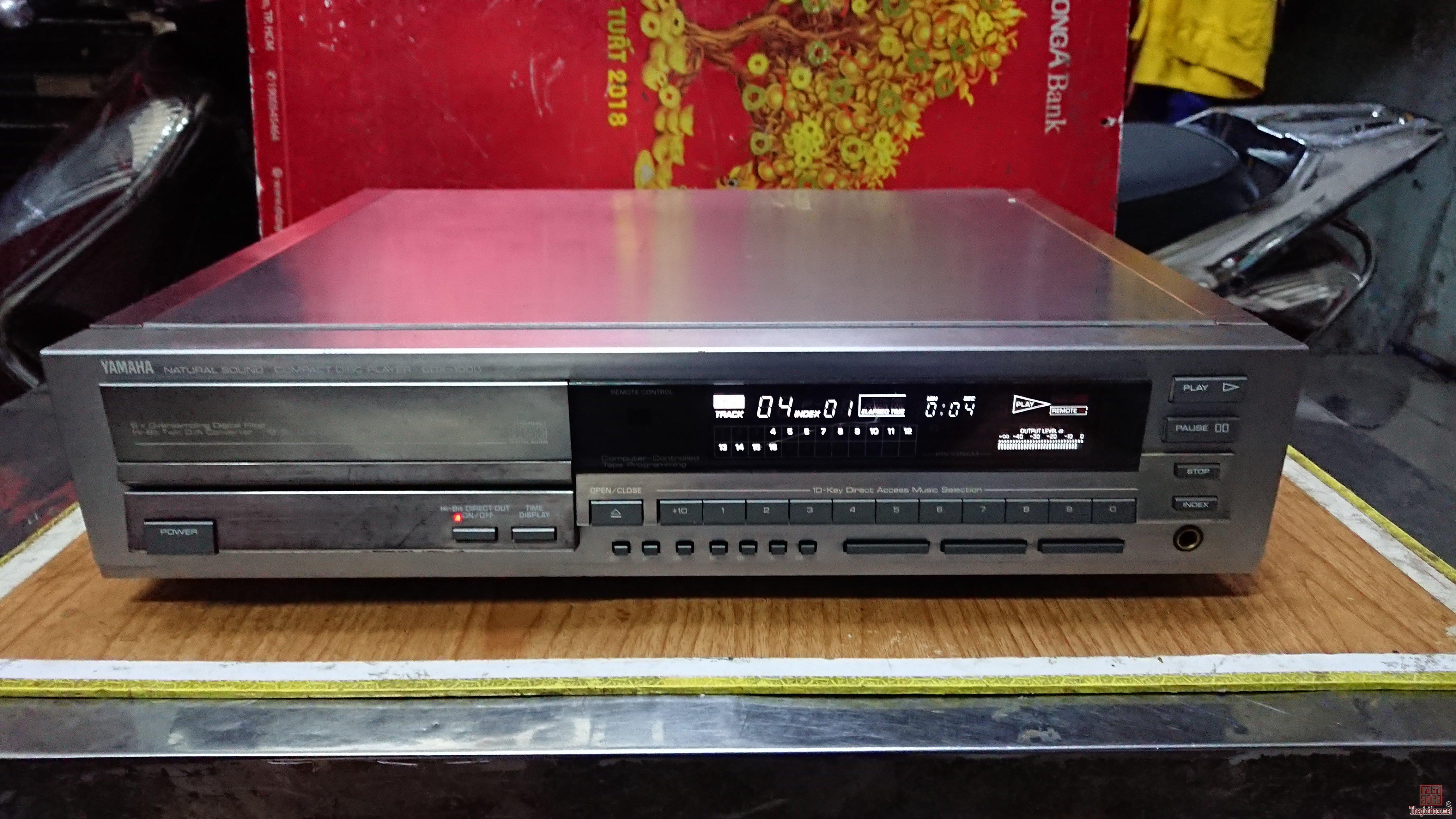Đầu CD Yamaha CDX1000 mới về từ Nhật