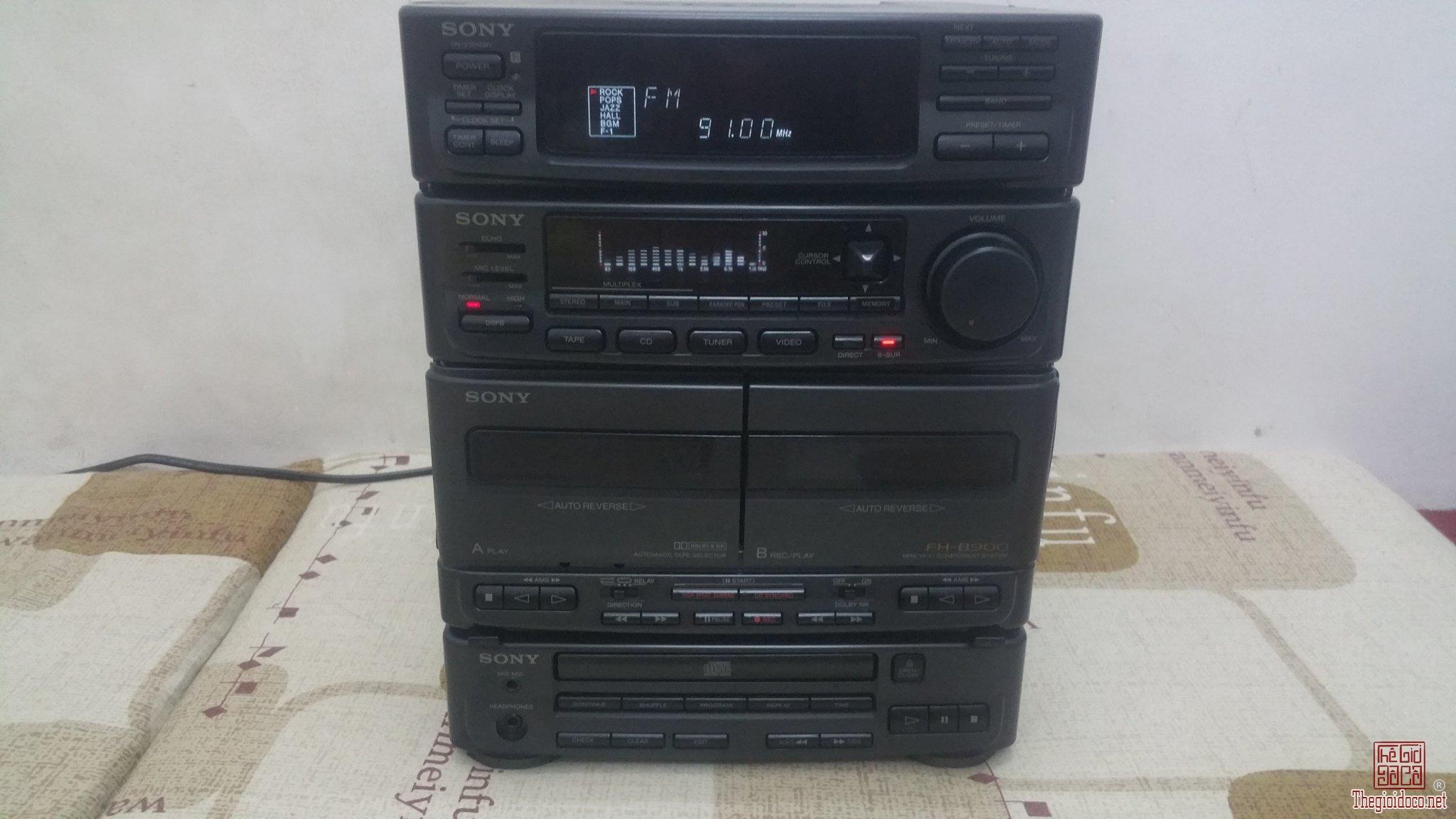 Cục giữa Ampli dàn đại SONY HCD-H71 (Made in Japan)