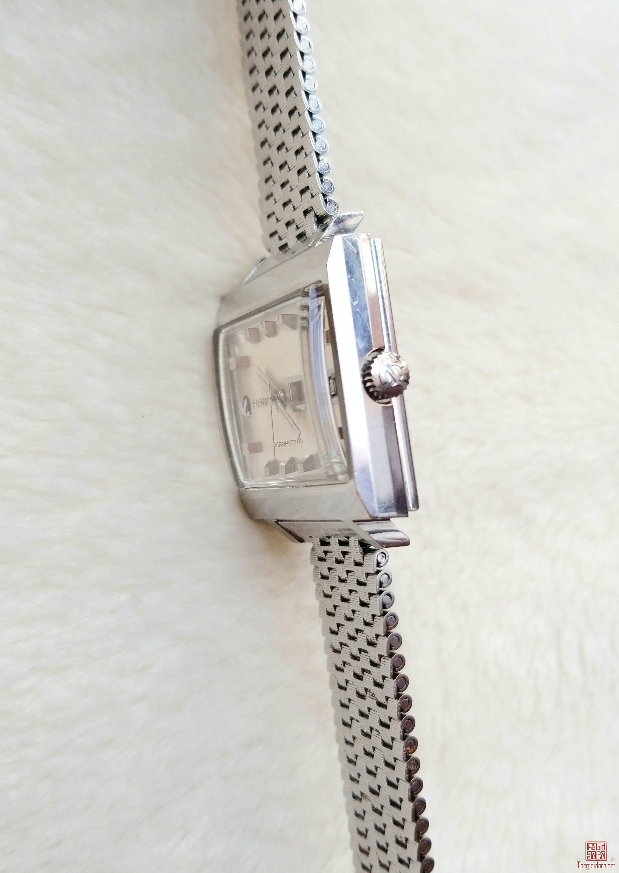 Đồng hồ xưa tự động RADO MANHATTAN Thụy Sỹ