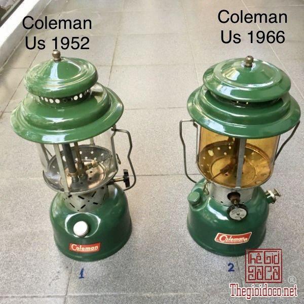 đèn măng xông Cổ Coleman Usa năm 1952 -1962 - 1966 zalo: 0776218163 Tiệm Hoàng Thiên