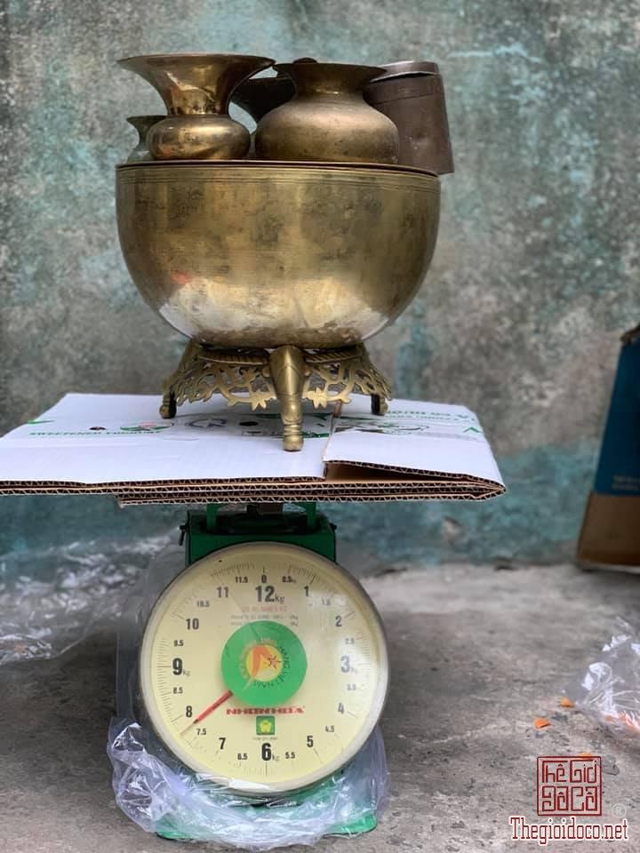 Bộ ăn trầu 14 món 2 ngăn đk 30cm nặng 8kg hiếm zalo: 0776218163
